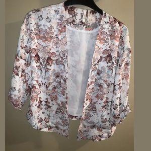 Floral blazer by Frenchi